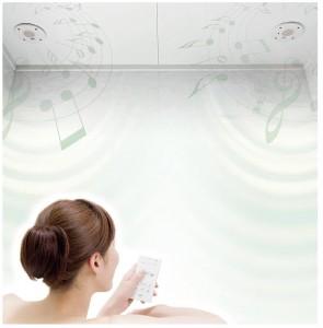 トクラスの浴室音響「サウンドシャワー」