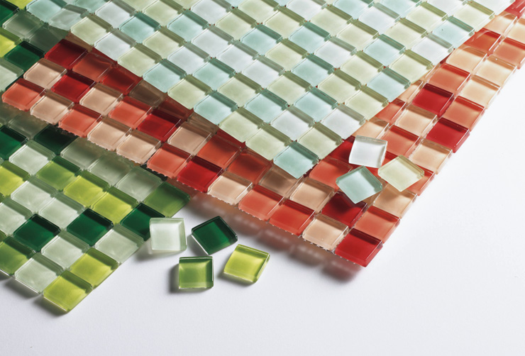 水まわり 内装 タイル ガラスモザイク