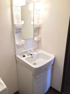 PV洗面台へ交換