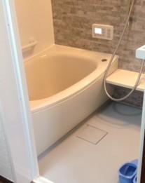浴槽のサイズが広くなったユニットバス