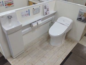 ワンデーリモデル手洗器付トイレ GG みずらぼ都島