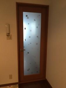 可愛い内装ドア ウッディライン クリエラスク柄
