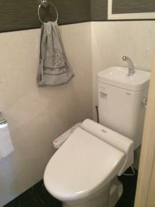 トイレにお掃除がしやすいアイカ タフウォール