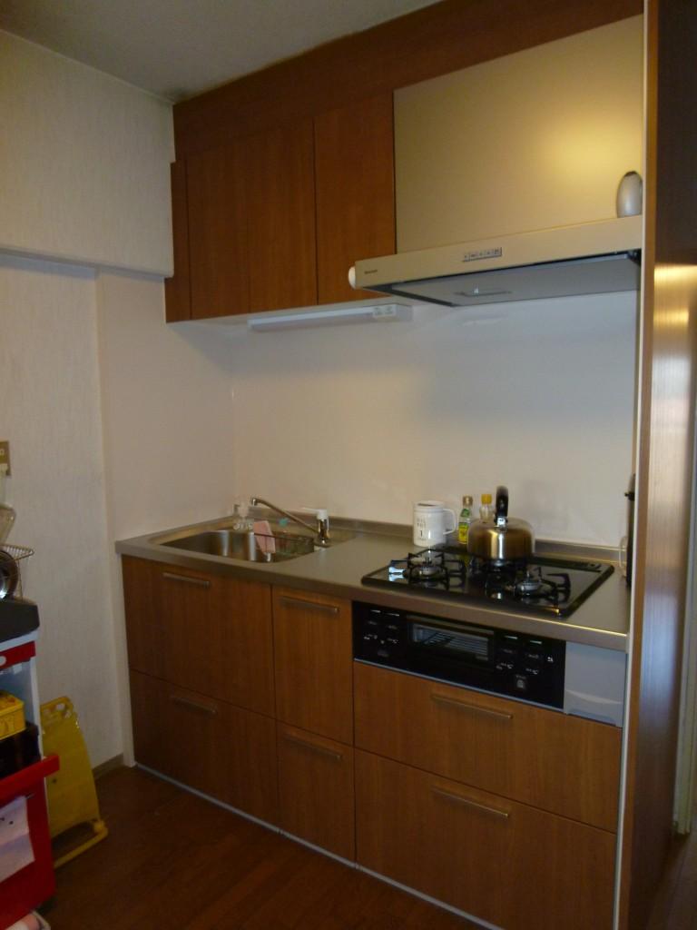 カウンター高さ90cmのキッチン パナソニック Vスタイル