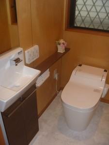 フロアタイル トイレ