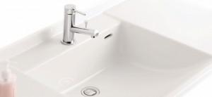 家具調デザインの洗面台 アフェット